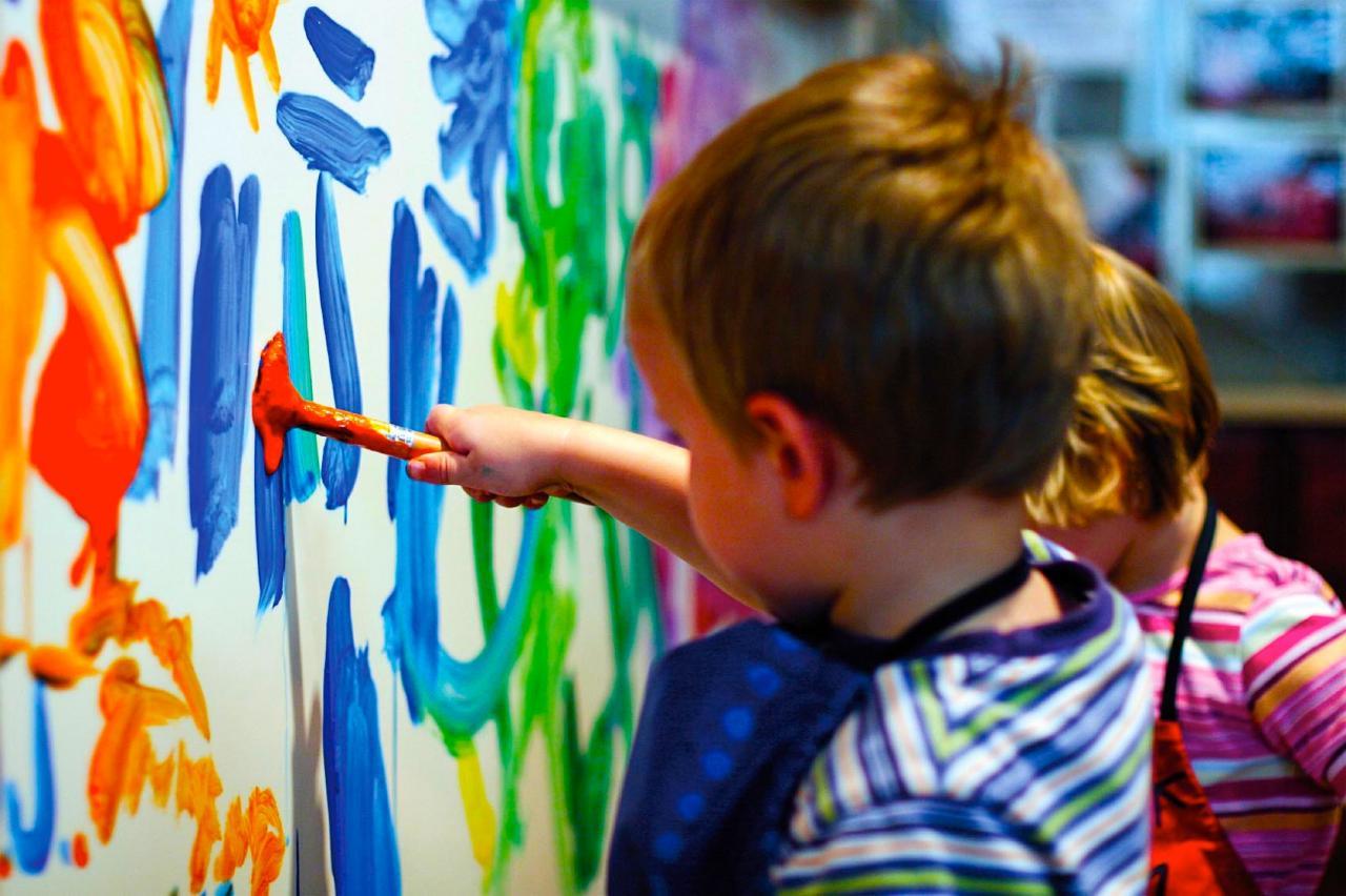 Quels types de peinture conviennent-ils aux enfants ?