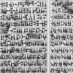 Qu'est ce que L'écriture de la langue akkadienne et babylonienne