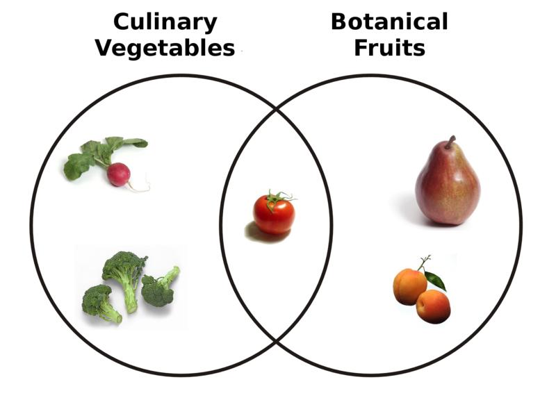 Quelle est la différence entre les fruits et les légumes ?