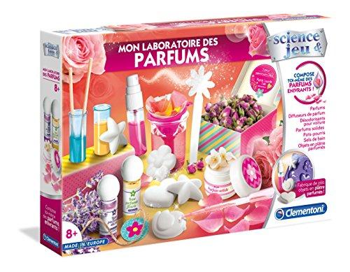 Clementoni - 52278-Mon laboratoire des parfums-Jeu scientifique