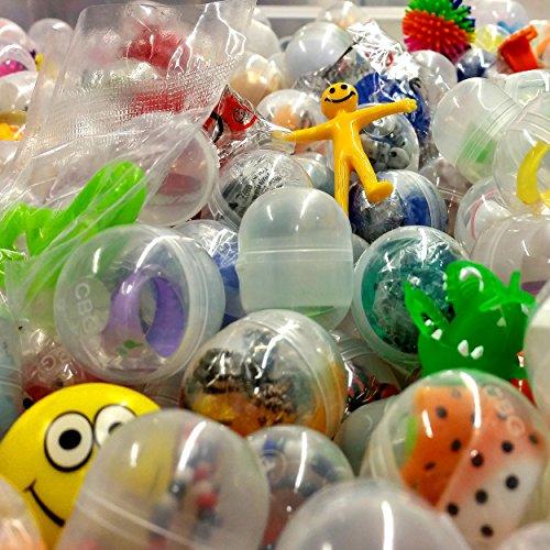 German-Trendseller ® 16 x Capsules Surprise Avec jouet à l'intérieur┃ Party Loot ┃ enfants ┃ mélange coloré ┃ Party
