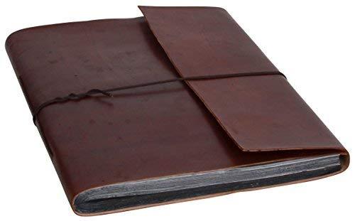 Gusti Carnet en cuir- Agenda en cuir véritable