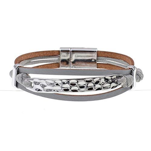 HNOGRG Bracelet Bracelets d'amoureux Bracelets À Bracelets Bracelets en Cuir pour Bijoux pour Femmes Et Hommes