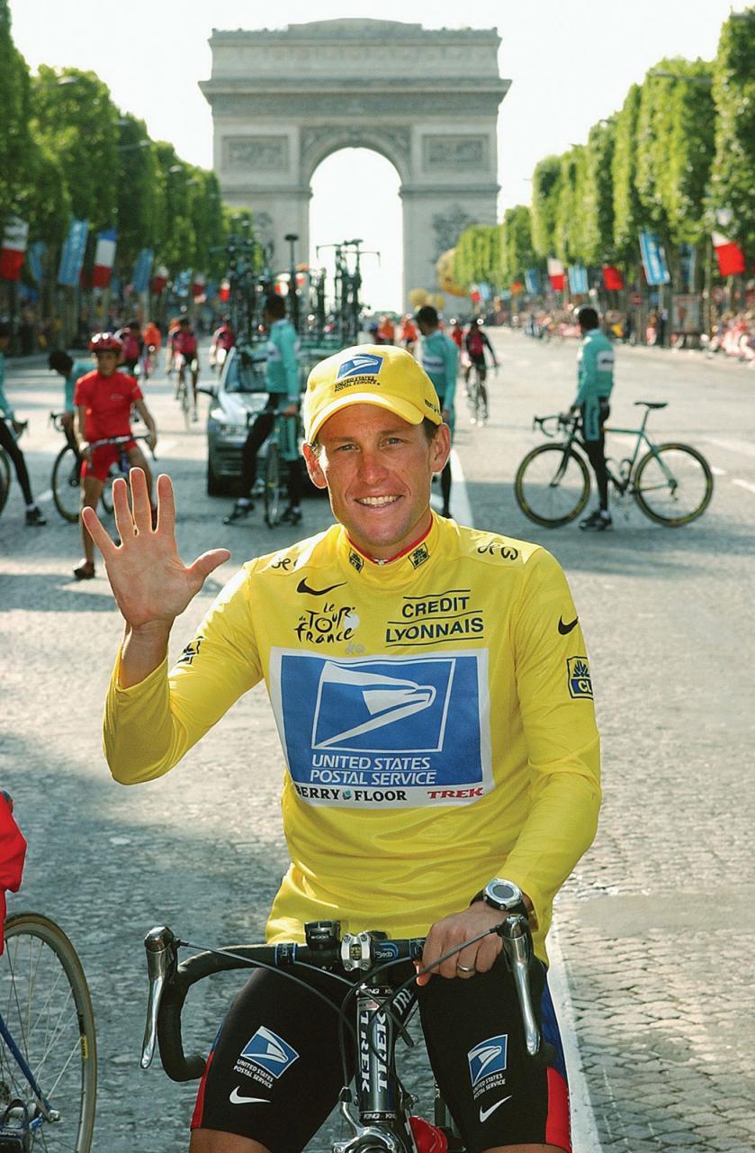 Qui est Lance Armstrong ? le septuple vainqueur du Tour