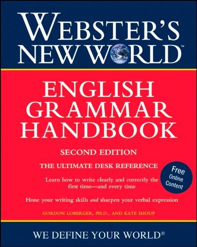 Webster's New World English Grammar Handbook, Second Edition